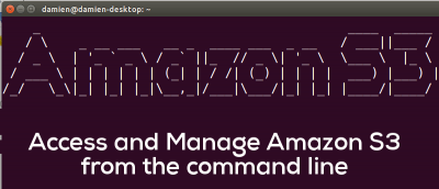 How to Manage Amazon S3 From the Command Line