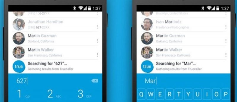 Identify Calls from Unknown Sources with Truedialer