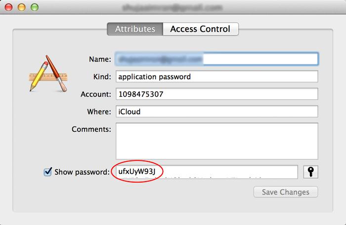 Keychain-Access-Password