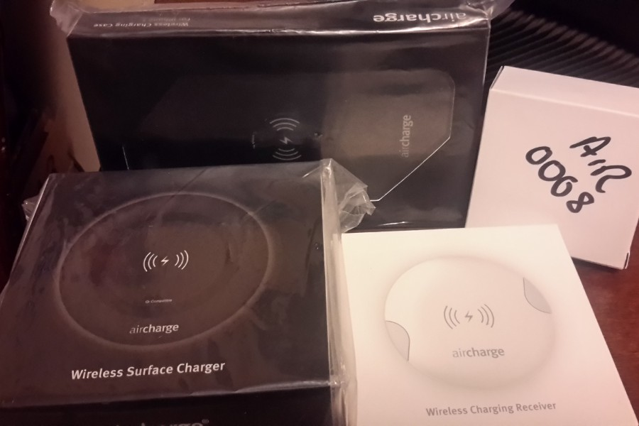 Items to be won in Make Tech Easier's Air Charge giveaway!