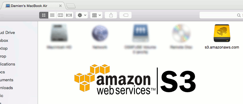 How to Mount Amazon S3 in Mac Finder
