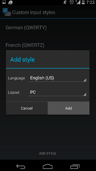 android-keyboard-add-input-style