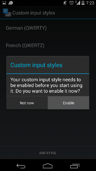 android-keyboard-enable-input-style