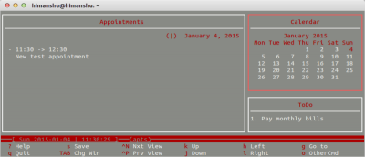 How to Keep Track of Events, Appointments, and Everyday Tasks from the Linux Command Line