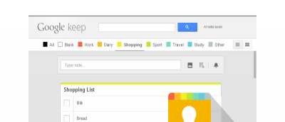 How to Add Category Tags for Google Keep Within Chrome