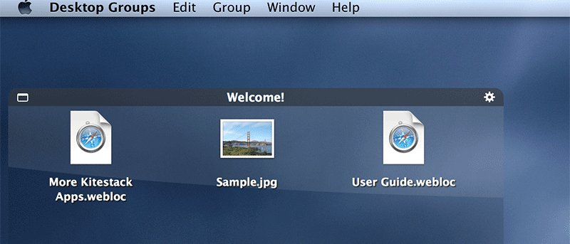 Organize your Mac Desktop with Desktop Groups – Review and Giveaway