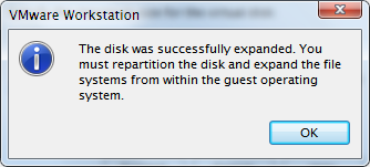 expand-vmware-disk-disk-space-increased