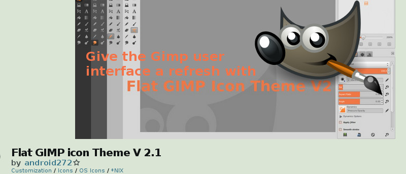Give the GIMP User Interface a Refresh with Flat GIMP