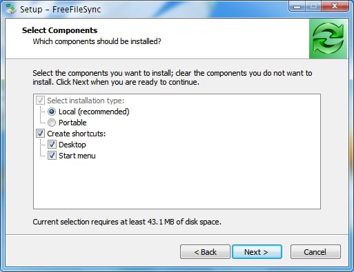 freefilesync-portable-option