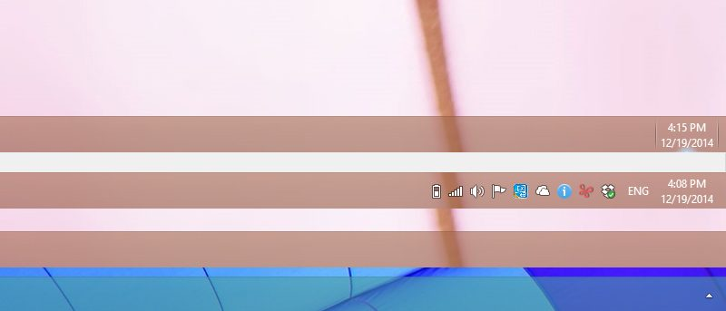 How to Hide Taskbar Icons and Tweak Notification Area in Windows 8