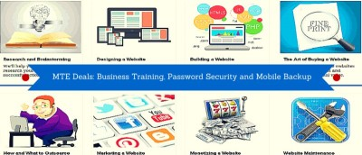 MTE Deals: Get a Lifetime of Business Training, Password Security and Mobile Backup