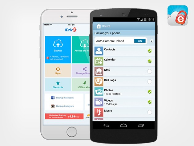 Protect Your Digital Life With Unlimited Data Backup For Up To 5 Mobile Devices