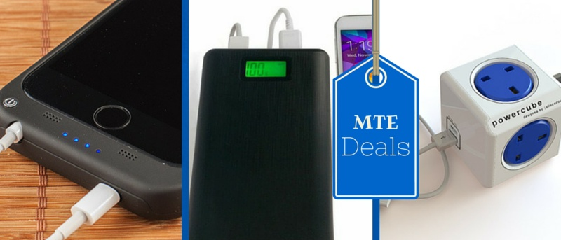MTE Deals: Three Gadgets to Keep Your Mobile Device Charged Up
