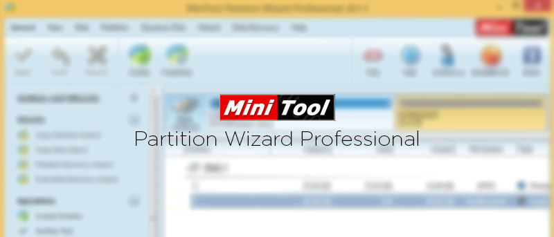 MiniTool Partition Wizard, Professional Edition: Review and Giveaway (Contest Closed)