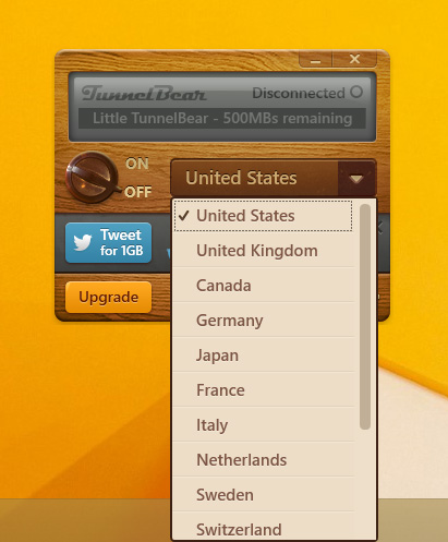 tunnelbear-countries