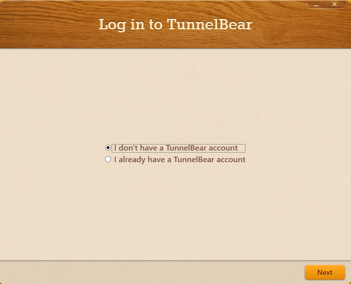 tunnelbear-new-account