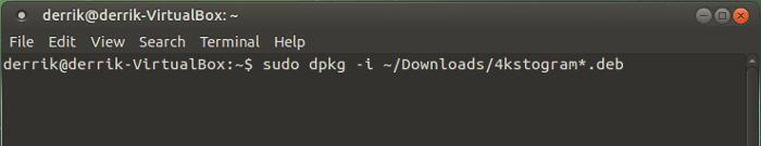 4kstogram-terminal-installation