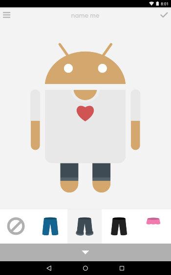 AndroidCreateAvatar-Androidify