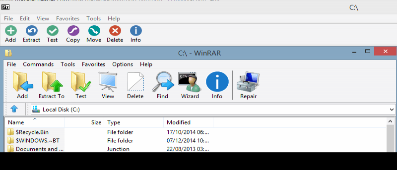 Easily Theme WinRAR and 7-Zip For a Total Visual Overhaul - Make