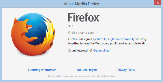 FA-Firefox-Version