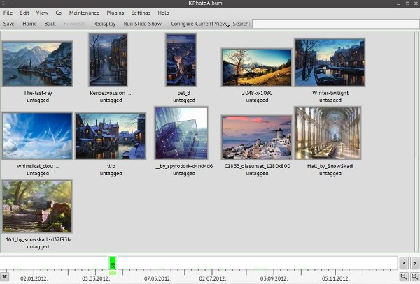 kphotoalbum-timeline-view