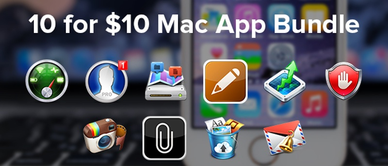 MTE Deals: 10-For-$10 Mac App Bundle Featuring StatsBar and Disk Map