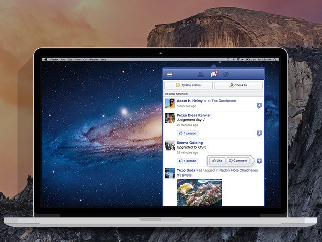 MenuTab Pro for Facebook: Access Your Facebook in a Sleek App w/o Opening a Browser