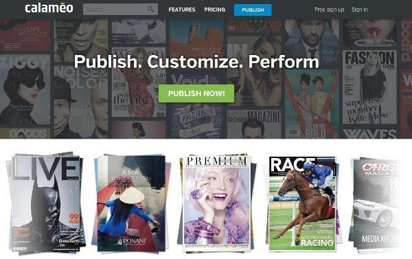Calameo - Publish. Customize. Perform.