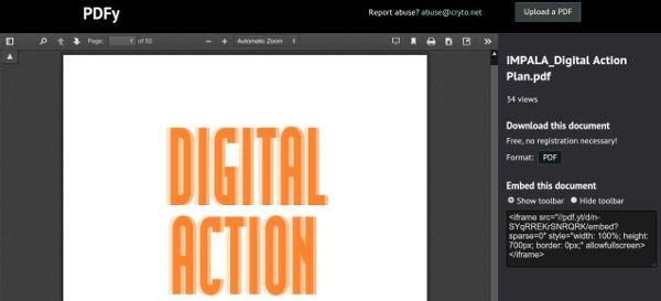 PDFy - Instant PDF Host