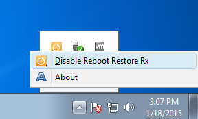 reboot-restore-disable