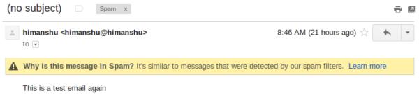 sendmail-email