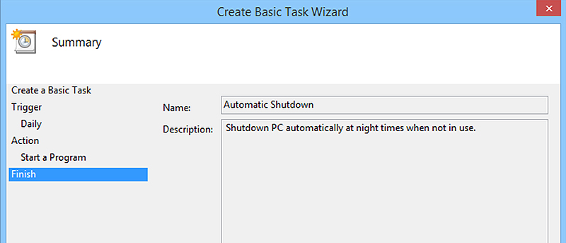 How to Automatically Shut Down a Windows PC at Night