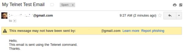 telnet-email