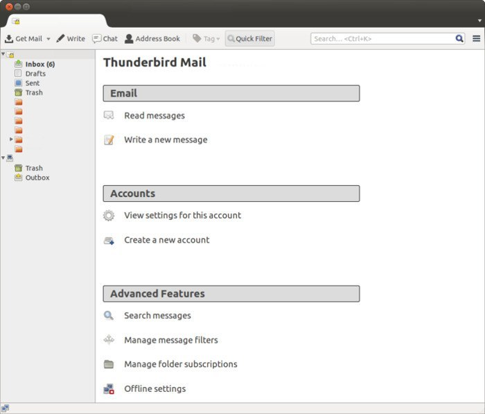 Thunderbird for Linux