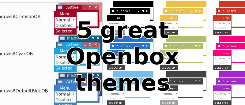 5 Great Openbox Themes - Make Tech Easier