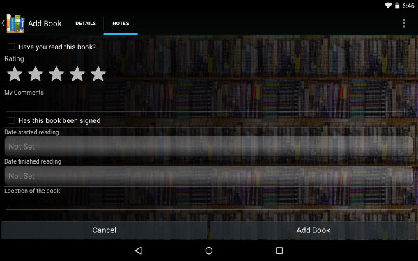 AndroidBookLibraryApps-Book-Catalogue