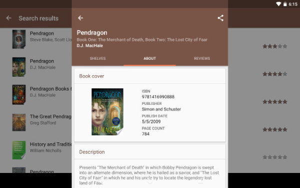AndroidBookLibraryApps-My-Library