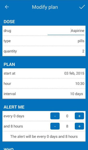 Do Not Forget Your Pills Android App