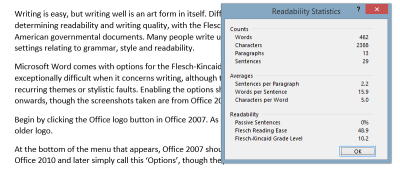 How to Get Microsoft Word to Check Your Document's Readability