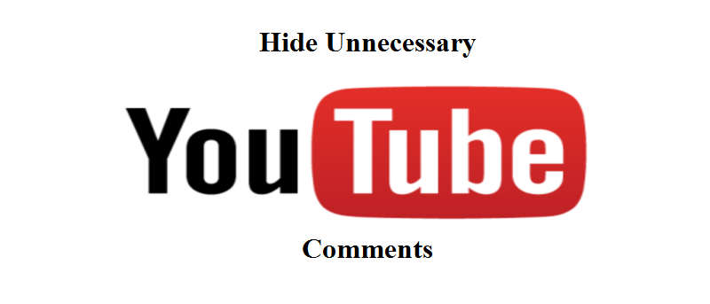 Hide Unnecessary YouTube Comments Using Hide Fedora