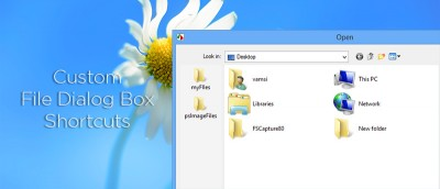 How to Create Custom Shortcuts in Windows File Dialog Box