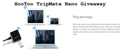 HooToo TripMate Nano: Pocket Travel Router and Media Sharing Center – Review & Giveaway