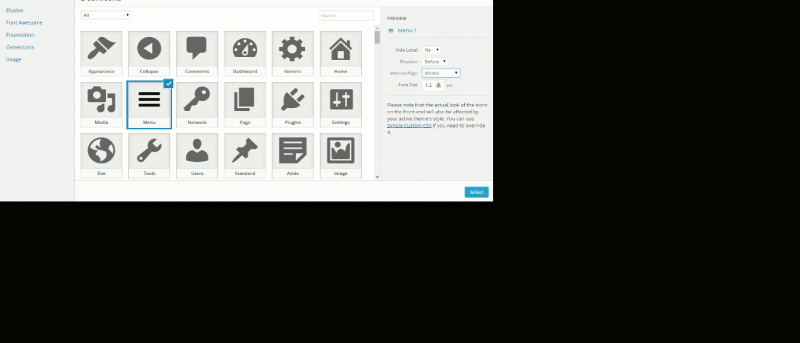 Easily Add Custom Icons to Your Theme Menu in WordPress