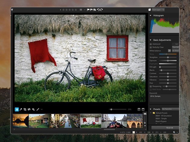 With unparalleled speed and power, AfterShot Pro 2 is an all-in-one RAW converter, photo editor, and high-speed photo manager.