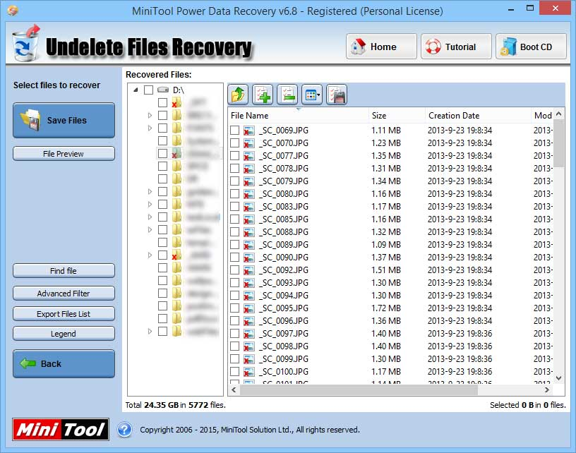 power-data-recovery-file-list