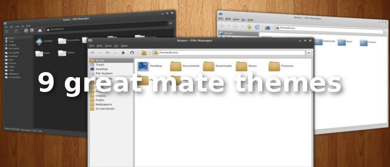 9 Great Mate Themes [Linux]