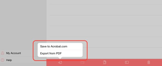 Move PDF files for offline access.