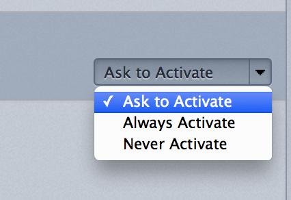 Select 'Ask to Activate' for Shockwave Flash content in Firefox.