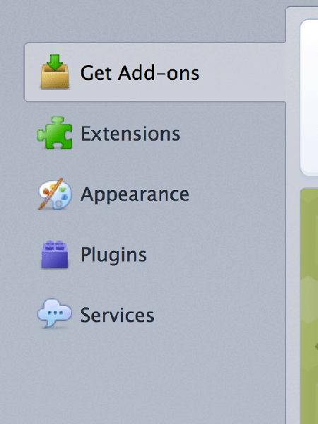 Click on the 'Plugins' option.