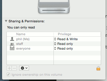 You can Get Info on the offending files and set the permissions.